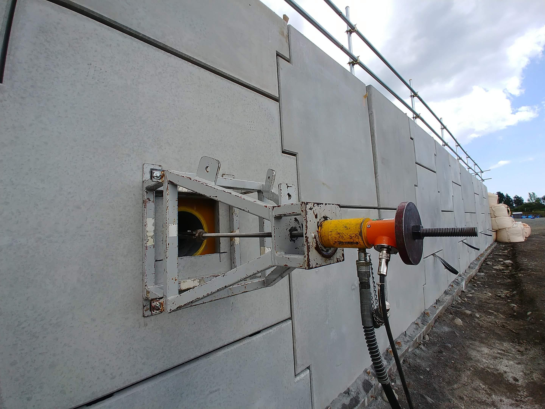 補強土壁工法 テールアルメの維持管理